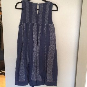 Anthropologie Dresses - Anthropology Akemi + Kin plus embroider tank dress